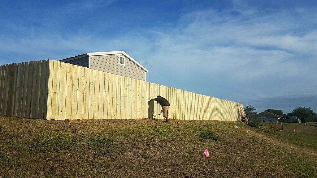 fence installation plantation fl