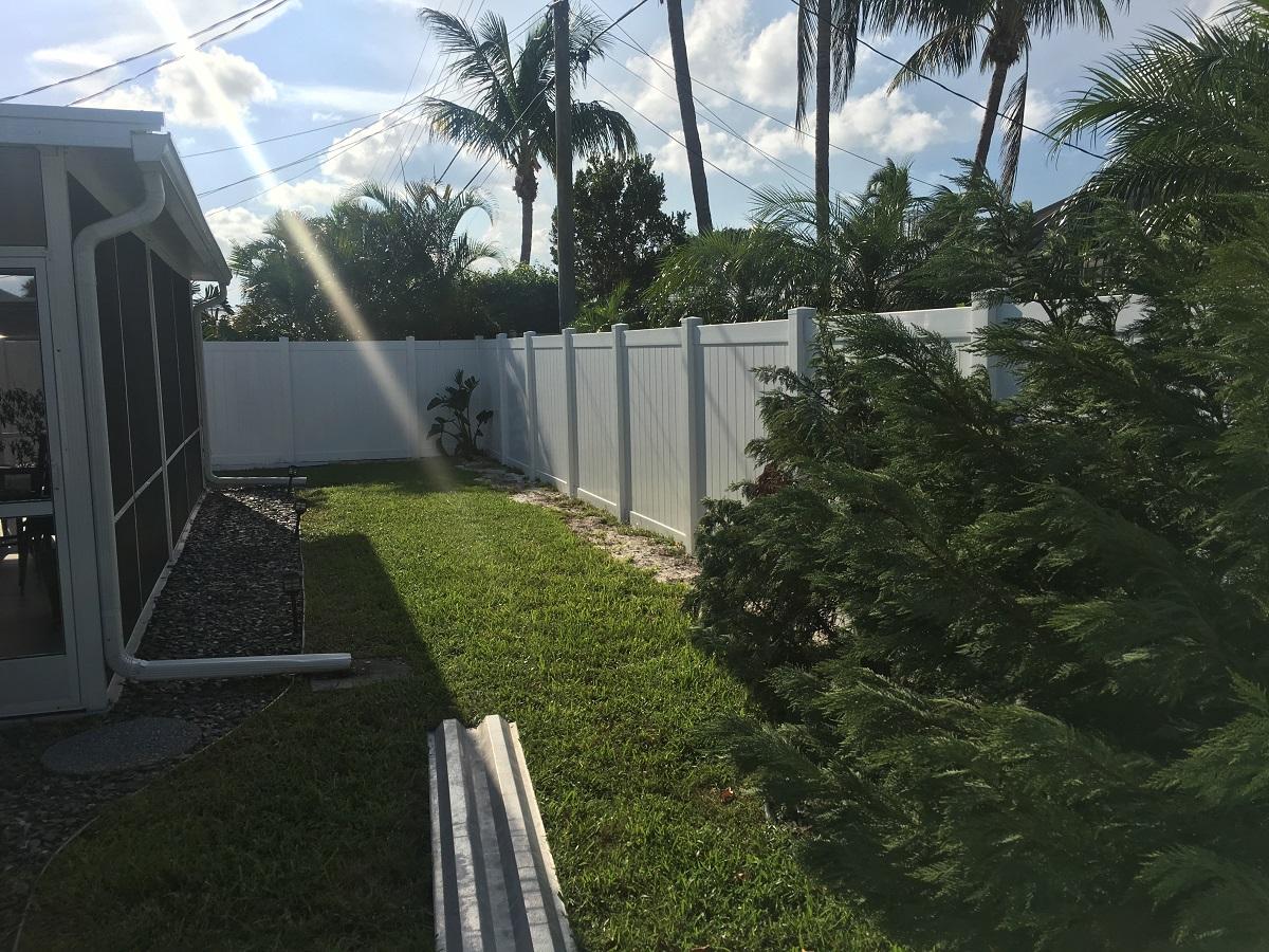 plantation fl fence installation