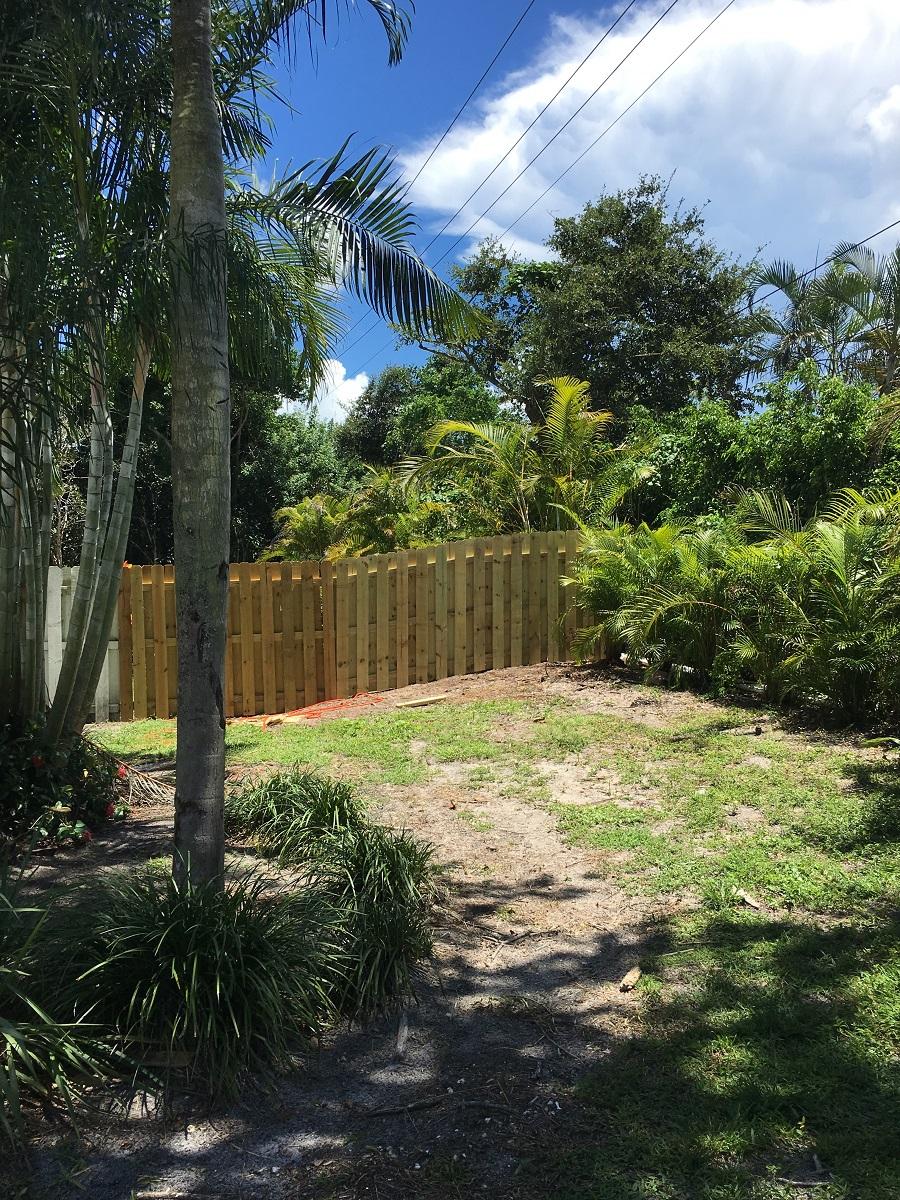 plantation residential fencing