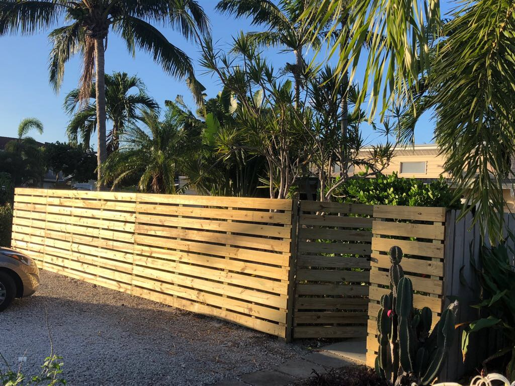 wood fence company plantation fl
